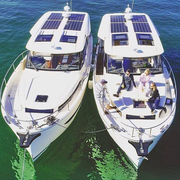 Flex solceller til båd