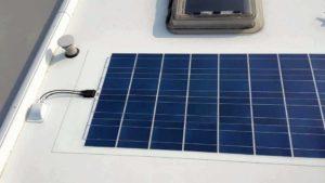 FlexLight solcelle på campingvogn