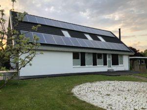 Solcelleanlæg på hus